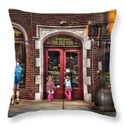 Cafe - The Italian Bakery Throw Pillow