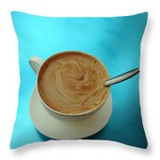 Caffe Americano Throw Pillow