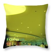 Caffe On The Fly Throw Pillow