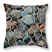Caged By Barbara Griffin Throw Pillow