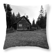 Cagin In The Woods Throw Pillow