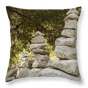 Cairn Friends Throw Pillow