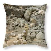 Cairn Patch Throw Pillow