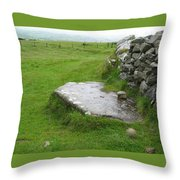 Cairn T At Loughcrew Throw Pillow