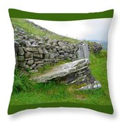 Cairn T - The Hag's Chair Throw Pillow