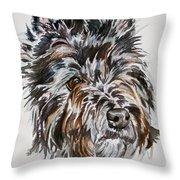 Cairn Terrier Martha Throw Pillow