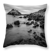 Cairncastle Ruin Throw Pillow