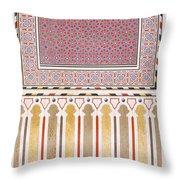 Cairo Decoration Of The El Bordeyny Throw Pillow