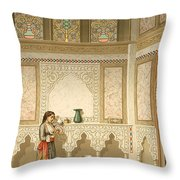 Cairo Interior  Throw Pillow