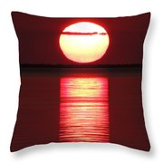 Cajun Heat Throw Pillow