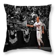 Cal Ripken Throw Pillow