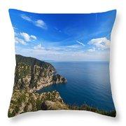 Cala Dell'oro - Italy Throw Pillow