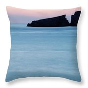 Cala Mesquida On The Island Throw Pillow