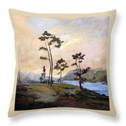 Calabash River Throw Pillow