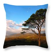 Caledonian Colours Throw Pillow