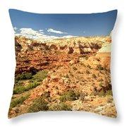 Calf Creek View Throw Pillow
