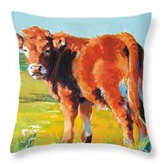 Calf Throw Pillow
