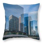 Calgary Glass Throw Pillow