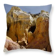 Calhan Paint Mines 1 Throw Pillow