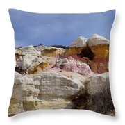 Calhan Paint Mines 2 Throw Pillow