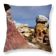 Calhan Paint Mines 3 Throw Pillow