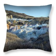 Calhan Paint Mines Landscape Throw Pillow
