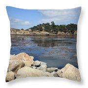 California Cove Throw Pillow