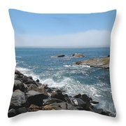 California Dreamin' Throw Pillow by Connie Fox