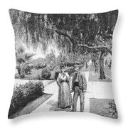 California Los Angeles Throw Pillow