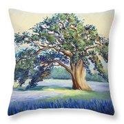 California Oak Throw Pillow