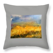 California Orchards Throw Pillow by Sherry Harradence