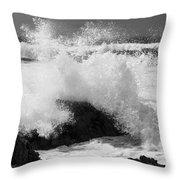 California Pacific Coast Throw Pillow