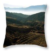 California Painted Canyon3 Throw Pillow