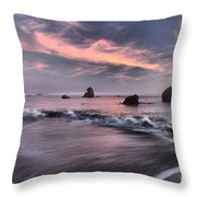 California Pastels Throw Pillow by Adam Jewell