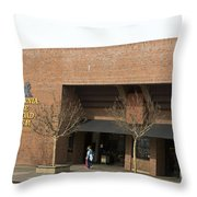 California State Railroad Museum Sacramento Throw Pillow