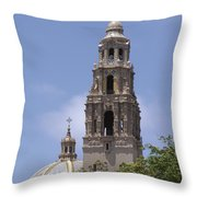 California Tower, Balboa Park, San Diego, California Throw Pillow