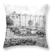 California Vaqueros Throw Pillow