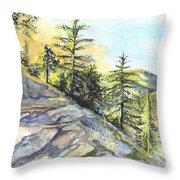 Californias Sierras Throw Pillow