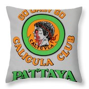 Caligvla Throw Pillow