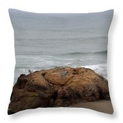 California Rock Throw Pillow