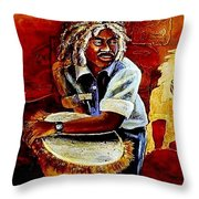 Calipso Man Throw Pillow