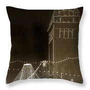 Call Building On Market Street San Francisco California 1902 Throw Pillow