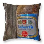Call For A Blue  Throw Pillow
