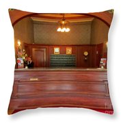 Call From Room 217 At The Stanley Hotel Throw Pillow
