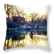 Call It A Day Throw Pillow