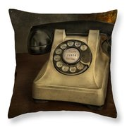 Call Me And Whisper Throw Pillow