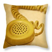 Call Me Throw Pillow