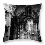 Call Of God Bw Throw Pillow