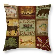 Call Of The Wilderness Throw Pillow