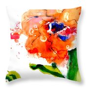 Call Up The Wind Throw Pillow